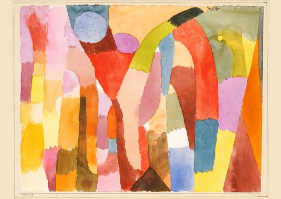 Klee, Paul: Movement of Vaulted Chambers. Fine Art Print/Poster (4997)